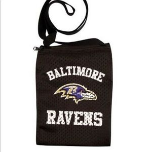 Baltimore Ravens NFL Game Day Pouch Jersey Purse